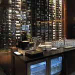 """Remington's, 20 North Michigan, just across from Millennium Park - Lovely Wine """"Cellar"""" Visible"""