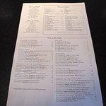 Remington's, 20 North Michigan, just across from Millennium Park - Wine List