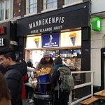 صورة فوتوغرافية لـ Manneken Pis Amsterdam