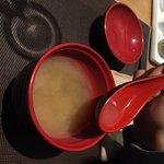 Sopa de miso= Misoshirru
