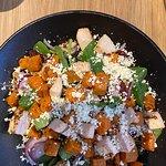 Sweet Potato & Chicken Salad