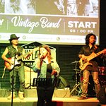 """Meet our home band on thursday to feel your funky night with funky song with """"Vintage Coffee"""""""