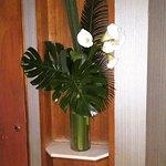 Rare deco in a bathroom...very nice.....
