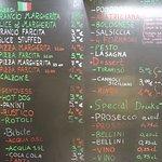 Pako's Pizza & Pasta - the menu