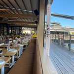 The restaurant from the wharf front
