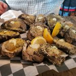 Charred Oysters, best in NOLA!!