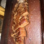 Steak (with flash). Yums.