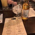 Cider & bar menu