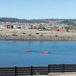En olas de Tirüa contamos con kayak, tablas de stand up paddle, bicicletas y más