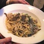 Mushroom pasta special