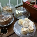 more cakes and scones