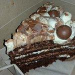 baileys and chocolate cake