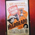 Roy Rogers and Trigger poster at Linda's Tavern.