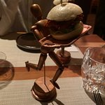 Mini burgers, with truly unique presentation