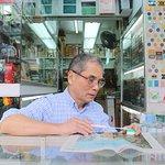 Azulejos Mahjong tallados a mano