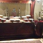 Buffet des desserts.