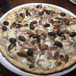 Signature gourmet pizza