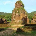 Private car transfer from Da Nang to My Son to Marble Mountain (round trip)