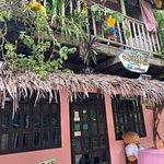 Facade of the restaurant.