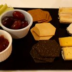 Dessert: Selection of 5 British Cheeses.