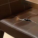 chaise en mauvaise état , ce n'est pas la seule
