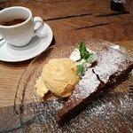 wunderbares Dessert mit super Kaffee