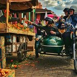 Private sidecar ride : Best of Marrakech 1.5h
