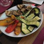Ottima e generosa porzione di verdure grigliate