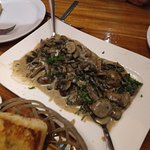 We shared this appetizer of four mushrooms