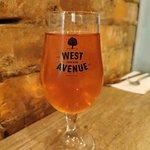 west avenue Cider at Salt Lick Smoke House
