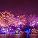 Croisière de feux d'artifice du compte à rebours 2019 - Yacht de luxe avec dîner