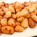 Close-up of Sully's Cheese Curds