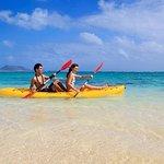 百慕大海岸游览:皮划艇生态旅游