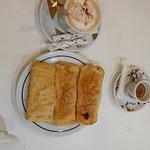 Café e o famoso travesseiro!