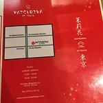 carte del menu