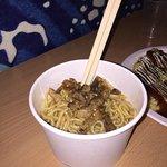 Spaghetti giapponesi con maiale croccante...