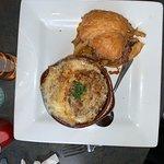 Roast Beef Sandwich & French Onion Soup