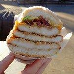 Chicken, bacon, cheese & avocado Hero - NYC (14/Feb/20).