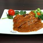 Grilled Chicken leg, at Kantipur Tandoori House