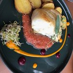 Black Hake - and potatoes - both really well done!