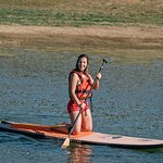 Stand up paddle tour in the Montado de Sobro - Cork Forest