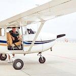 私人飛機上的加的夫飛行之旅