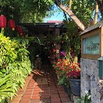 The entrance to the Coffee Garden - next door to the restaurant.