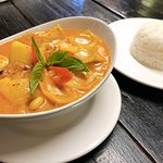 Massaman Curry the best I have tasted in Thailand