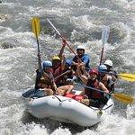White water rafting near Medellin