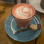 Red velvet latte!