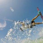 Kitesurfen 4-daagse beginnerscursus (groep, 2: 1)