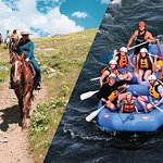 Saddle and Paddle, Whitewater y Horseback Experience - Express Combo Trip