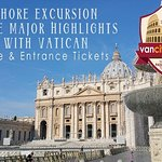Shore Excursion: Rome Major Highlights with Vatican Museums (guide and skip line tickets included)