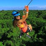 Cancun Adventure Tour at Selvatica: Zipline, Aerial Bridge, Buggy, Bungee Swing and Cenote Swim